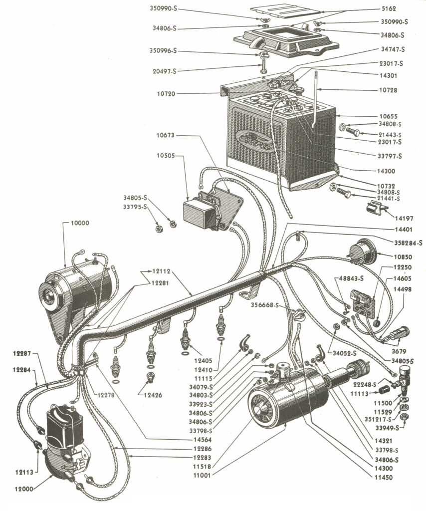 1950 Ford 8n Tractor Firing Order Ford Firing Order