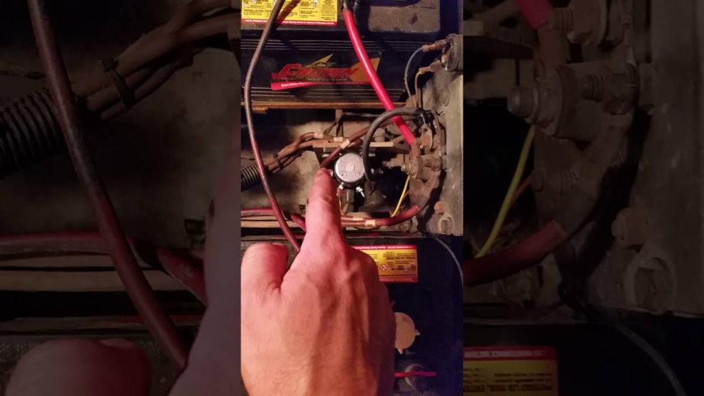 1992 Ezgo Solenoid Wiring For Dummies YouTube