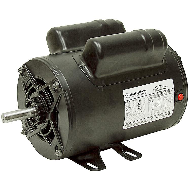 2 HP 115 230 3450 RPM Marathon Air Compressor Motor 10