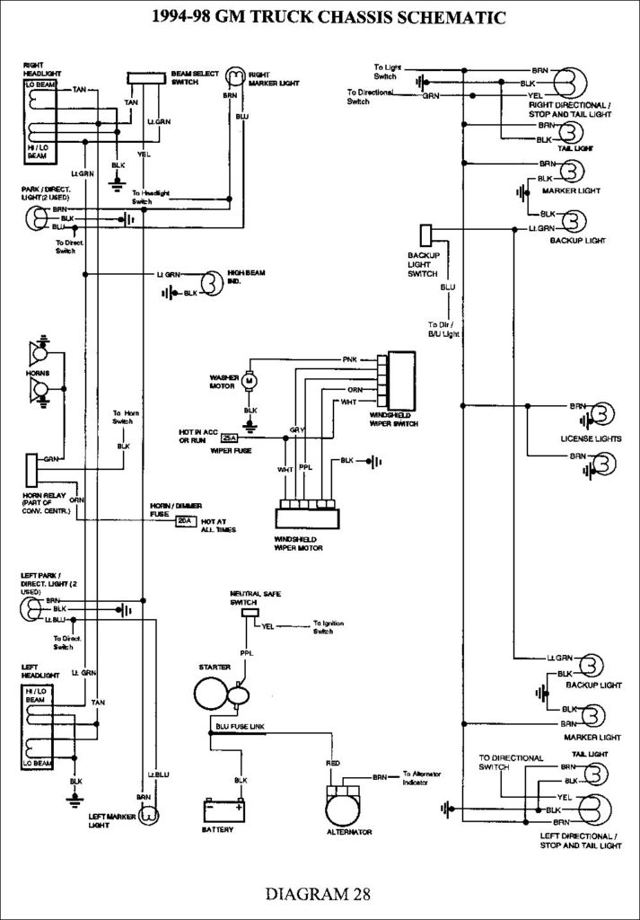 2000 Chevy Silverado 1500 Trailer Wiring Diagram Trailer