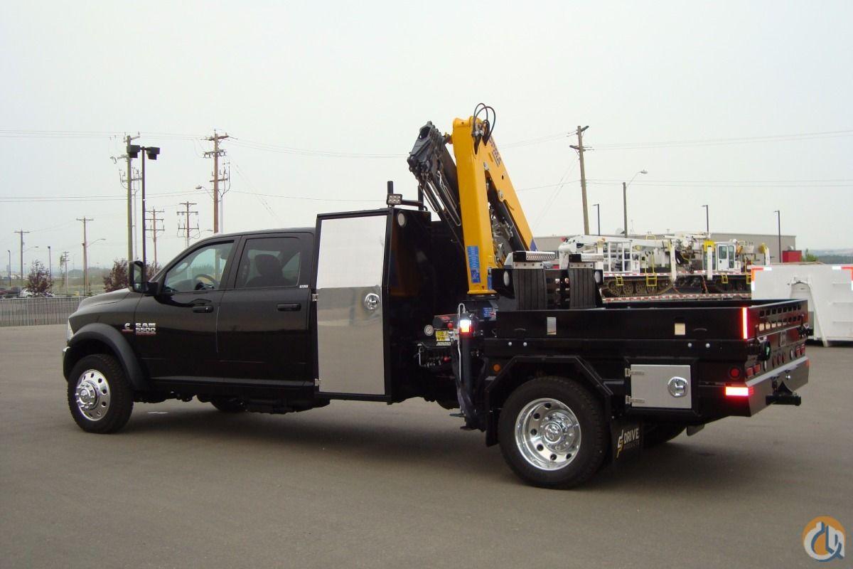 2015 DODGE 5500 Crane Flat Deck Start With This Custom