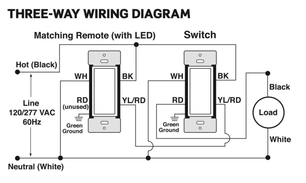 33 Leviton 3 Way Dimmer Switch Wiring Diagram Wiring