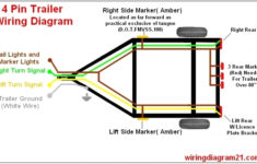 4 Pin Flat Trailer Plug Wiring Diagram