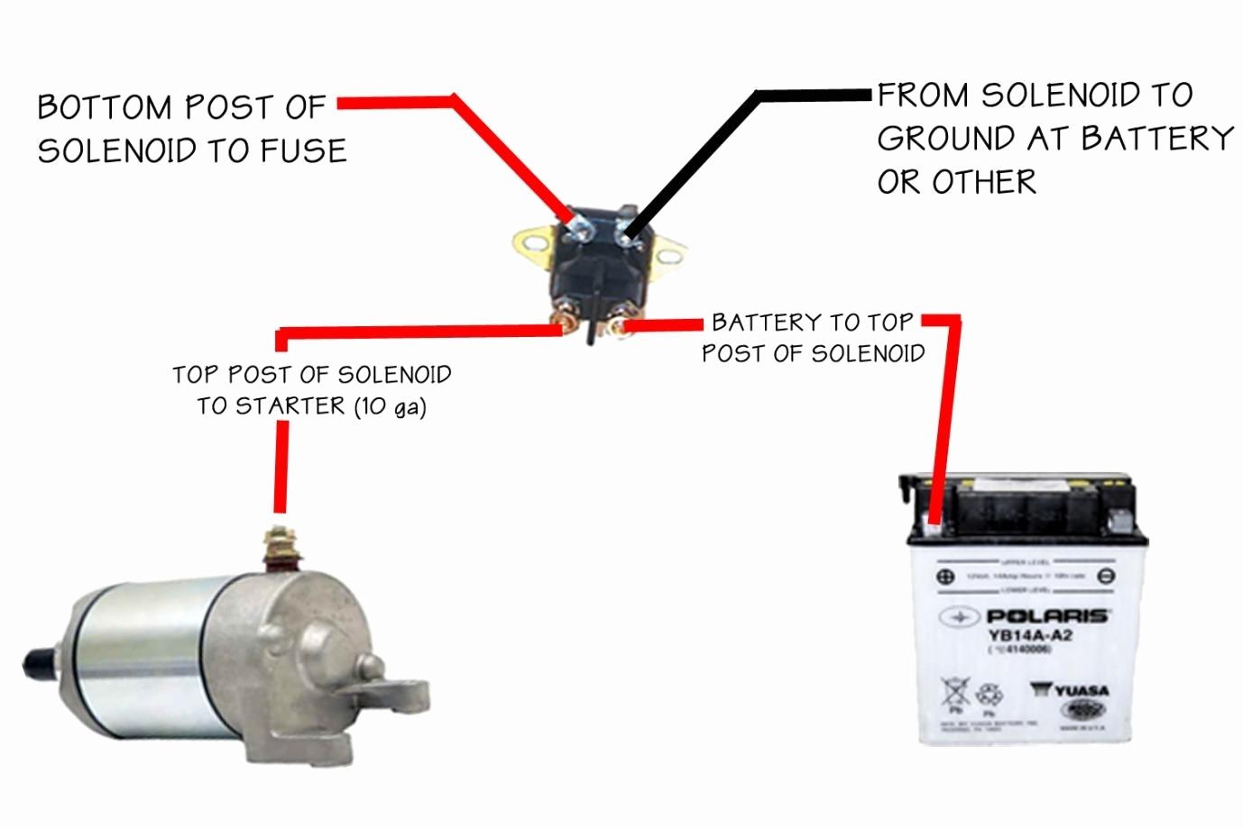 4 Pole Starter Solenoid Wiring Diagram Free Wiring Diagram