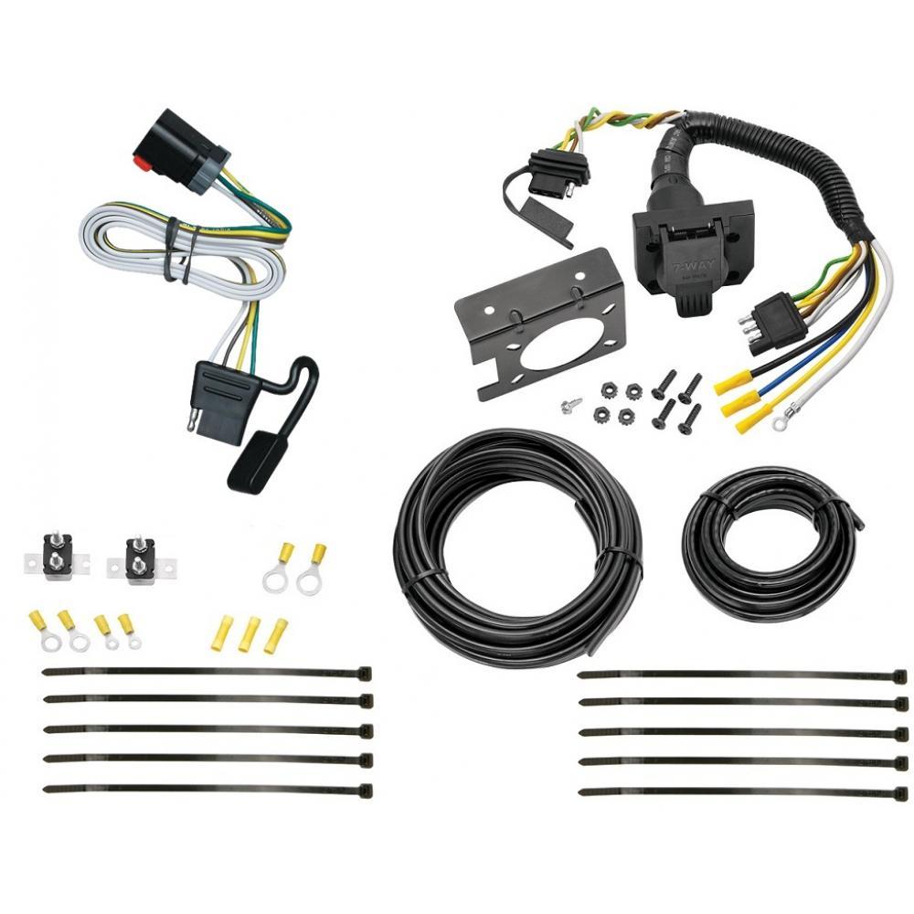 99 00 Dodge Ram Van 1500 2500 3500 7 Way RV Trailer Wiring