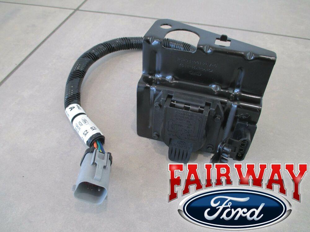 99 Thru 01 F250 F350 Super Duty Ford 4 7 Pin Trailer Tow