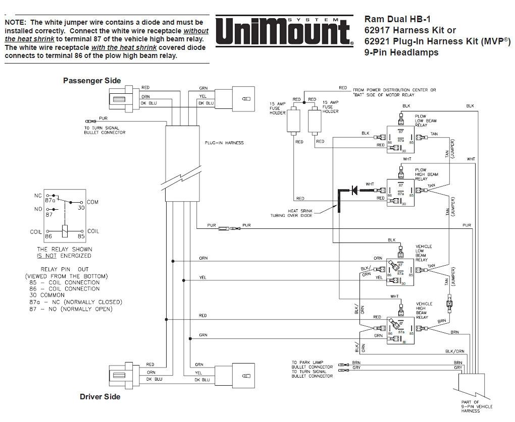 Boss V Plow Wiring Diagram Free Wiring Diagram