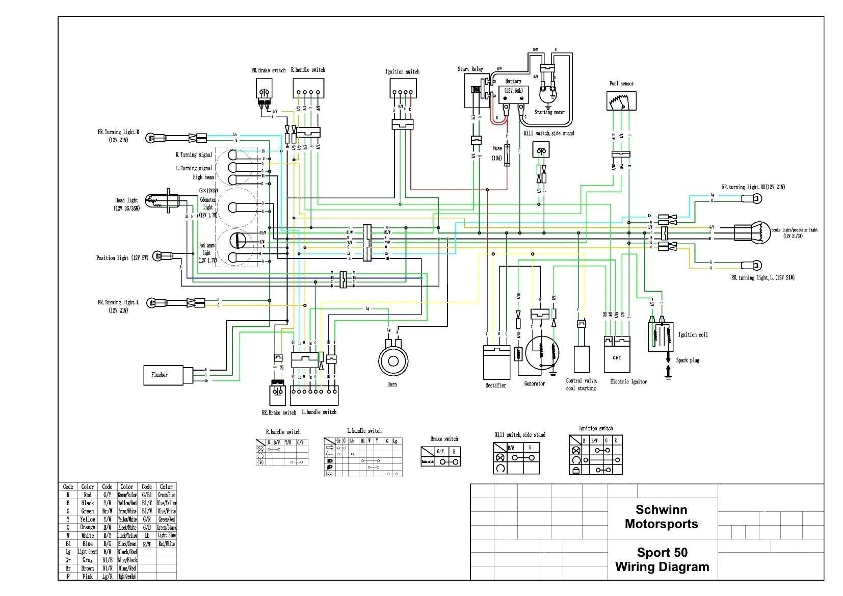 Chinese 4 Wheeler Wiring Diagram Wiring Diagram