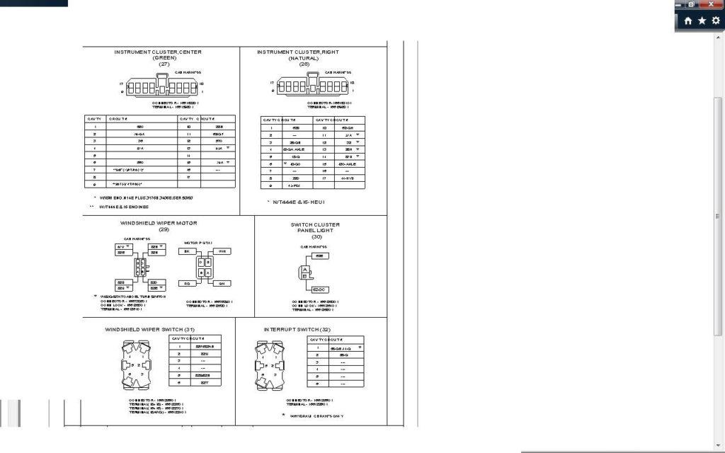 DIAGRAM 2000 International 4700 Wiring Diagram FULL