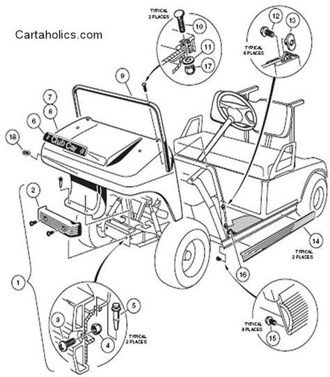 DIAGRAM Wiring Diagram For A 2002 Club Car Golf Car FULL