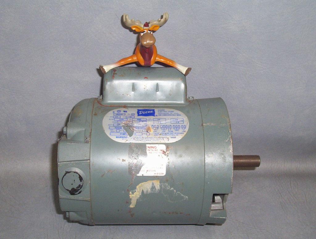 Doerr Electric Motor 1 4 HP LR22132 1725RPM 115v 230v