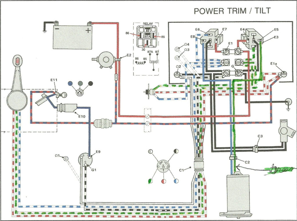 Help With Tilt Trim Wiring 1989 48 Spl Page 1 Iboats
