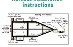 4 Flat Trailer Wiring Instructions