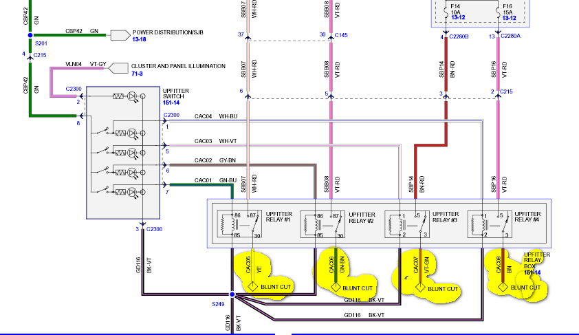 I Have A 2008 F250 I Am Trying To Wire An Accessory To