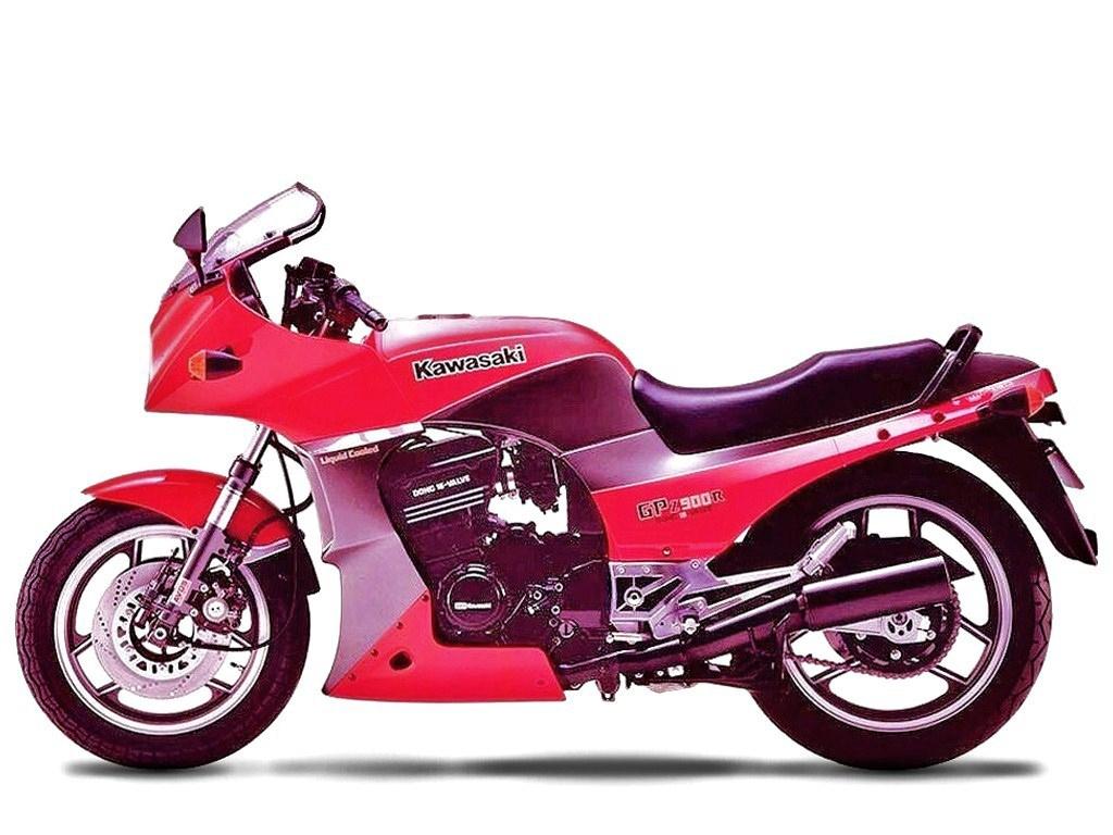 Kawasaki GPz900R 1984 2ri de