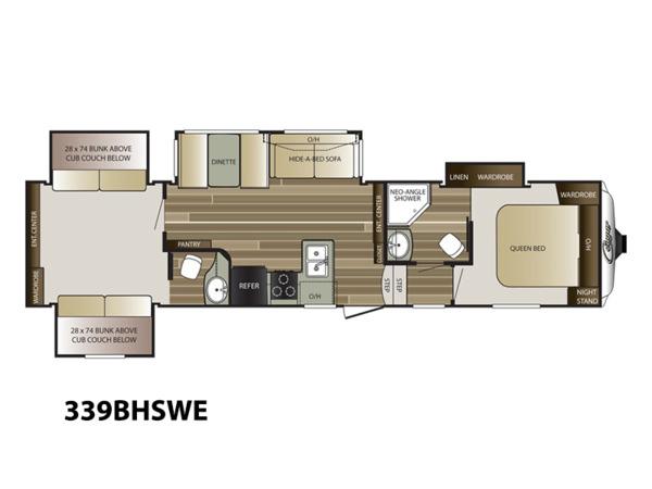 Keystone Cougar Rv Floor Plans Bruin Blog