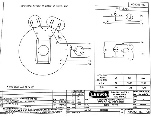 Leeson Electric Motor Wiring Diagram Wiring Diagram Schemas