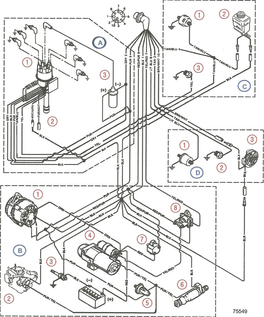 Mercruiser 4 3 Wiring Diagram Free Wiring Diagram