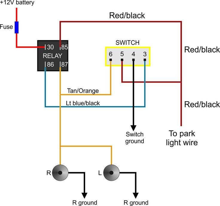 Relay 5 Pin Wiring Diagram Afif Light Switch Wiring
