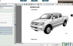2005 Toyota Hilux Mass Air Flow Wiringcolour Code Diagram