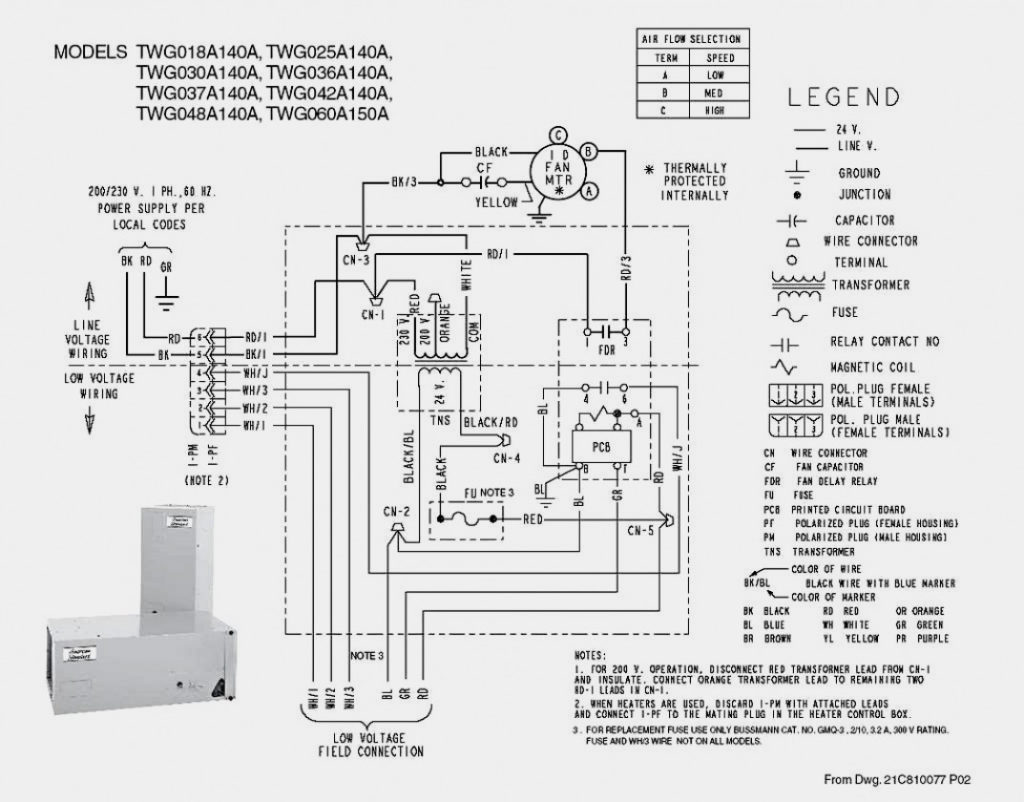 Trane Thermostat Wiring Diagram Wiring Diagram