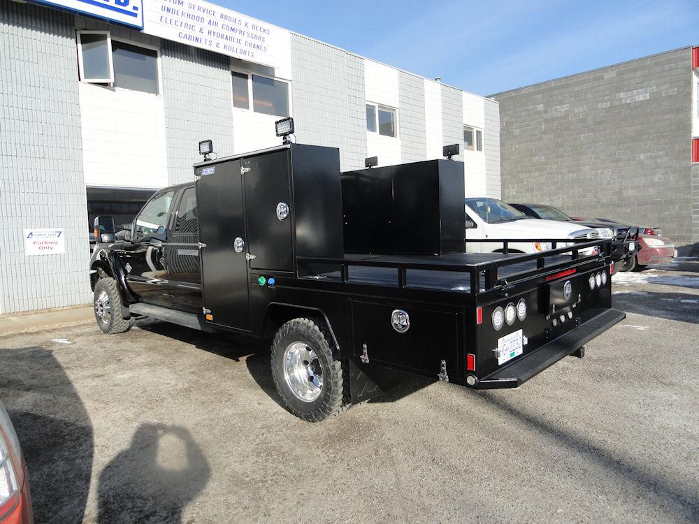 Truck Service Decks Accurate Truck Bodies And Service Decks