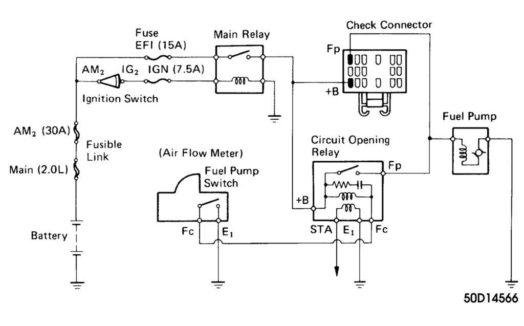 TT 3354 1990 Toyota 4 Wheel Drive Wiring Diagram Free