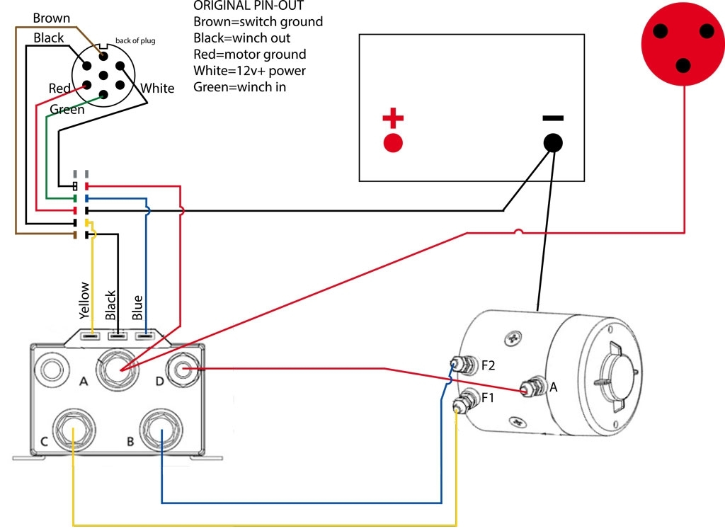 Warn Winch Controller Wiring Diagram Wiring Diagram And