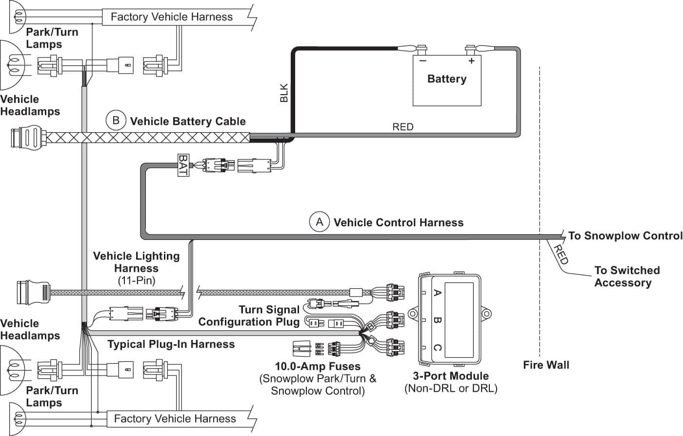 Western Plow Solenoid Wiring Diagram Wiring Diagram