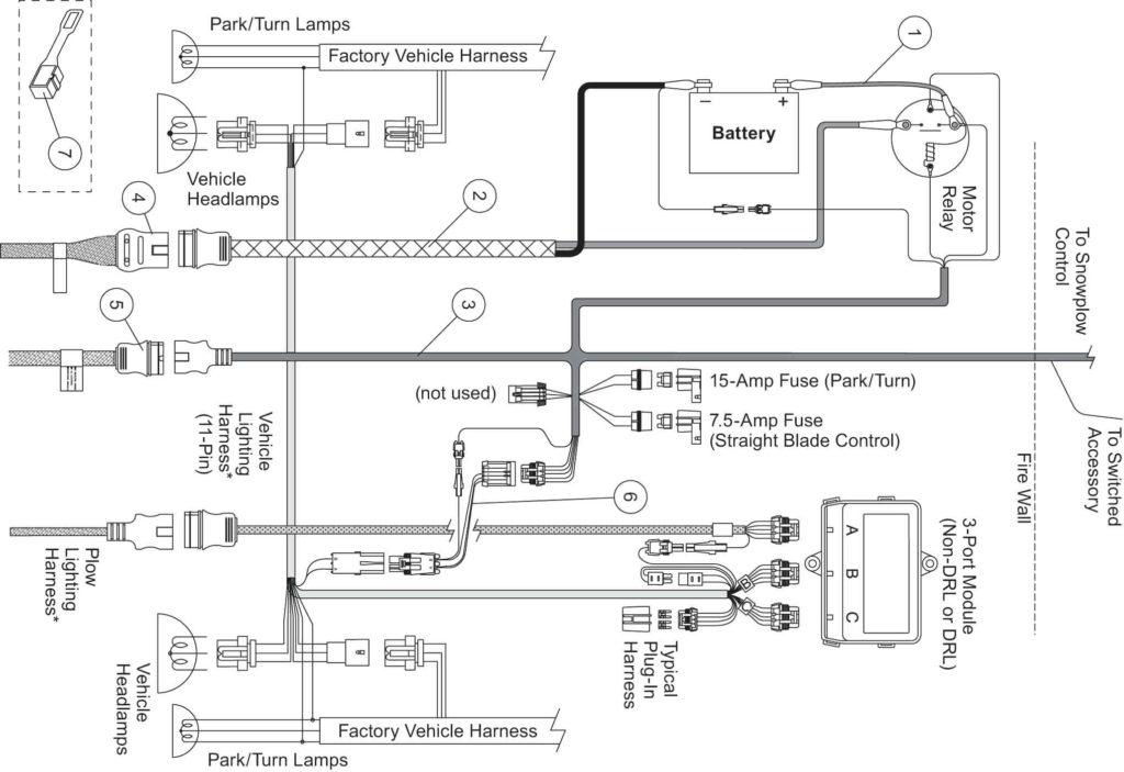 Western Snow Plow Controller Wiring Diagram Free Wiring