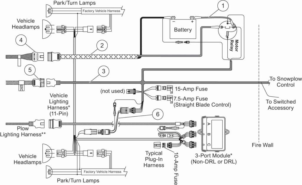 Western Snow Plows Wiring Diagram Headlights Free Wiring