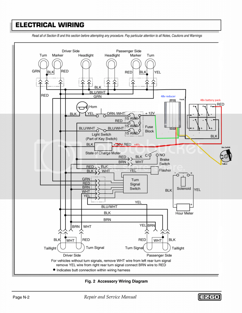 Wiring Diagram For 48 Volt Ezgo Golf Cart