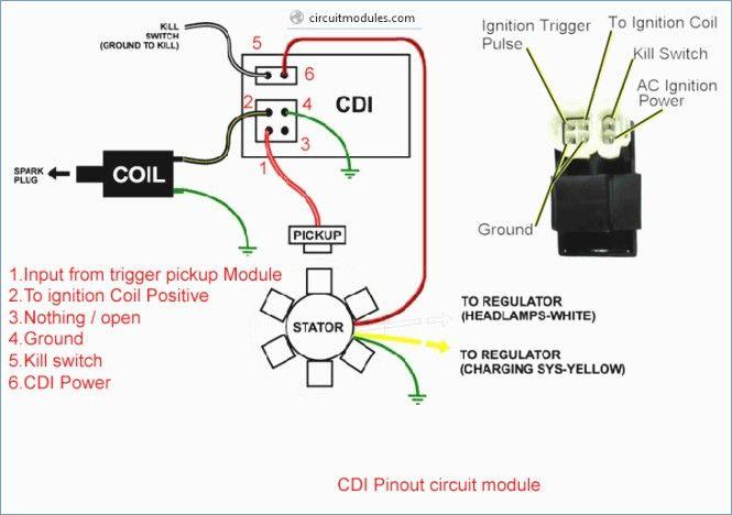 Wonderful 6 Pin Cdi Wiring Diagram Gallery Electrical